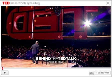 TED Behind the Scene with Sir Ken Robinson