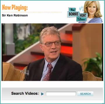 Sir Ken Robinson on The Bonnie Hunt Show