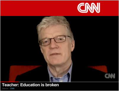 Sir Ken Robinson on CNN