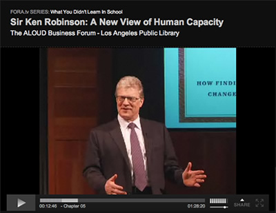 FORA.tv - A New View of Human Capacity