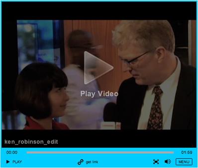 Sir Ken Robinson on Scholastic.com