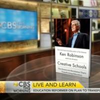 CBS News – Sir Ken Robinson on creative schools, transforming education