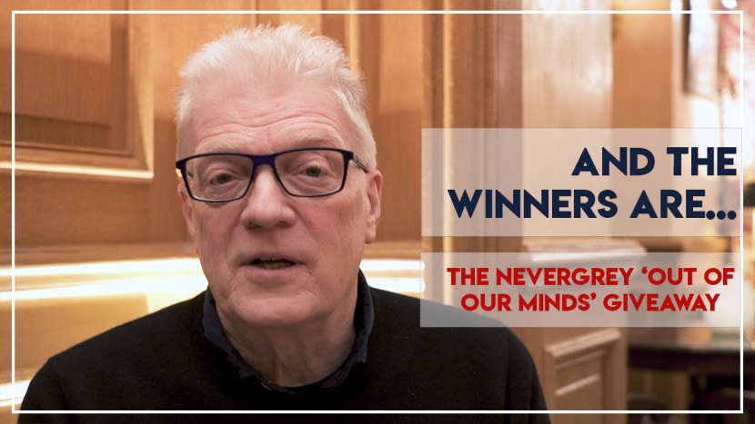 'Out of Our Minds' 2019 Giveaway - And The Winners are...