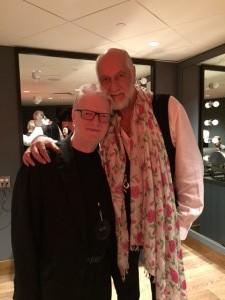 Mick and I